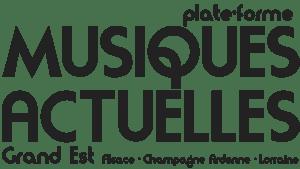 PLATE-FORME DES MUSIQUES ACTUELLES GRAND EST ALSACE CHAMPAGNE ARDENNE LORRAINE logo